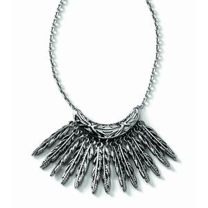 Lia Sophia Featherstone Necklace